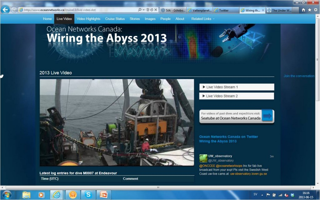 Wiring the abyss 2013